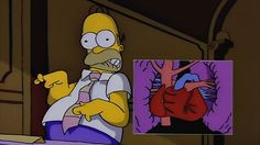 Homer-Simpson-Heart-Attack Simpsons Cartoon, Have A Happy Day, Rugrats, Reaction Pictures, Good Movies, Anime, Disney Characters, Drawings, Artwork