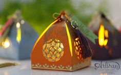 3 D Projekte Eastern Palace - packaging with Stampin Up Orient Palace - Artisan Sylwia Schreck Vacuu Eastern Palace, Stampin Up Catalog, Oriental, Light Crafts, Pretty Box, Scrapbooking, Tea Light Holder, Stamping Up, Homemade Cards