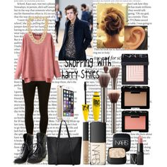 """""""Shopping with Harry Styles  _One Direction"""" by mimihemmings on Polyvore"""