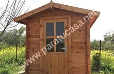 Cube 20mm, 4m² Cube, Shed, Outdoor Structures, Building, Log Homes, Lean To Shed, Backyard Sheds, Buildings, Coops