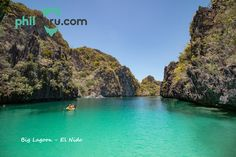 Visit the big lagoon in El Nido during your island hopping trip.