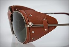 Leather Side Shields for Sunglasses / shades - Gadget Freak and EDC Forum - Multitool.org