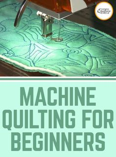 Peg Spradlin are very helpful tips on machine quilting for beginners. Find out which secret techniques speed up the learning process. See what tools you need and what threads and needles are best. Grab your sewing. Quilting For Beginners, Sewing Projects For Beginners, Quilting Tips, Quilting Tutorials, Quilting Projects, Sewing Tutorials, Baby Quilt Tutorials, Longarm Quilting, Easy Projects