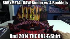 I bought a very rare binder with four booklets of BABYMETAL goodness! Click the image to go to the video.