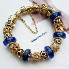 Pandora Jewelry OFF! Pandora Gold, Pandora Rings, Pandora Jewelry, Leaf Jewelry, Bling Jewelry, Jewelery, Pandora Bracelet Charms, Bracelet Designs, Fashion Bracelets