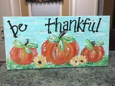Pumpkin and Sunflower Painting, pumpkin painting, sunflower painting, fall art by AshleyBradleyArt on Etsy https://www.etsy.com/listing/535750378/pumpkin-and-sunflower-painting-pumpkin