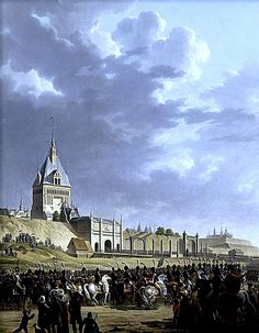 Entry of Napoleon and the French Army in Danzig, 1807.