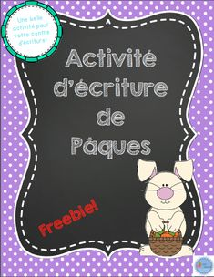 Learn French the Easy Way Easter Worksheets, French Worksheets, Easter Activities, Spring Activities, Holiday Activities, Writing Activities, French Teaching Resources, Teaching French, How To Speak French