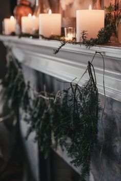 A Local Milk Christmas | Foraged Gift Wrapping, DIY Tree Trimming Garland, and recipes for Balsam Fir Syrup + Fennel Rosemary Snowflake Cookies