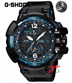 Relógio G-SHOCK GRAVITY MASTER GW-A1100FC-1ADR Relojoaria New Look Time