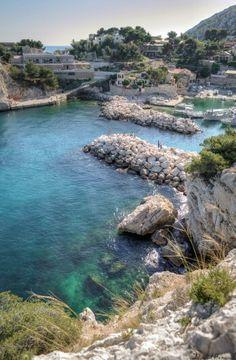 Niolon, Le Rove near Marseille, Provence, France