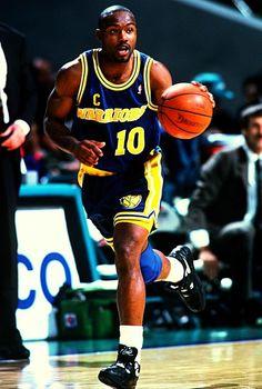 Tim Hardaway Golden State Warriors