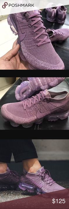 Nike Air Vapormax Flyknit One of the hottest shows this year in the Violet Dust/Plum Fog Colorway! Nike Shoes