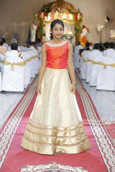 Long Skirt Top Designs, Dress Designs, Blouse Designs, Maxi Outfits, Girl Outfits, Trendy Outfits, Kids Dress Wear, Kids Wear, Little Girl Dresses