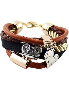 Shop Multilayer Heart Horn Bracelet online. Sheinside offers Multilayer Heart Horn Bracelet & more to fit your fashionable needs. Free Shipping Worldwide!