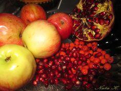 Осенний фруктово-ягодный натюрморт