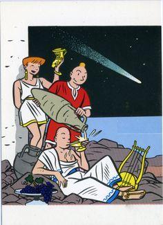 Yves Chaland, Freddy Sweep et Dina, la comète ...
