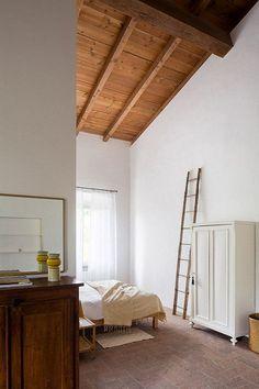 Una camera spaziosa #mansarda #bedroom