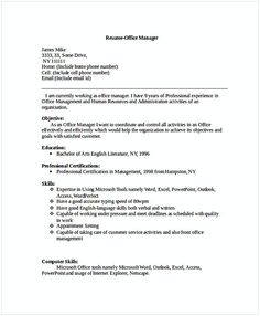Retail Sales Manager Resume  Sales And Marketing Manager Resume