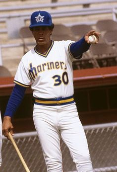 Maury Wills: Mariners manager Wills owns the worst winning percentage in Mariners history @ Baseball Manager, Best Baseball Player, Baseball Wall, Better Baseball, Baseball Photos, Baseball Cards, Mlb Uniforms, Baseball Uniforms, Mariners Baseball
