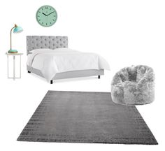 """""""Untitled #15"""" by aly-stagich on Polyvore featuring interior, interiors, interior design, home, home decor, interior decorating, ESPRIT, PBteen and Comfort Research"""