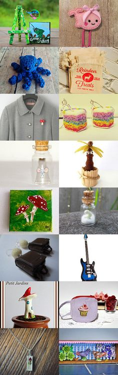 All the mini things <3  by Idegiyas on Etsy--Pinned with TreasuryPin.com