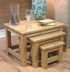 Ashmore ash nest of tables tables nest and tesco direct 62x46cm nest of 3 coffee tables mobel solid premium oak watchthetrailerfo