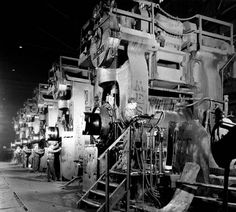 "76"" Hot Strip Mill, pre-World War II"