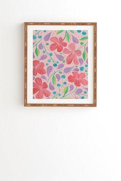 Viviana Gonzalez Vintage Floral IV Framed Wall Art | DENY Designs Home Accessories