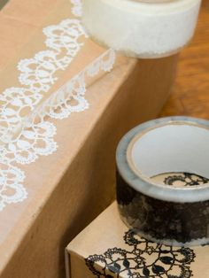 lace tape    not the correct link; but seriously!?!? so coool!