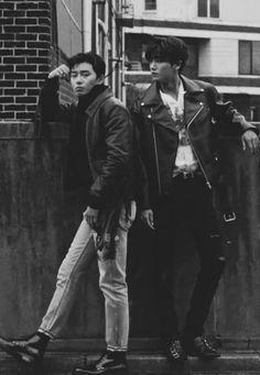 Park seo joon X park hyun sik Korean Star, Korean Men, Park Hyung Shik, Park Seo Joon, Handsome Korean Actors, Hyung Sik, Kdrama Actors, Asian Actors, Asian Men