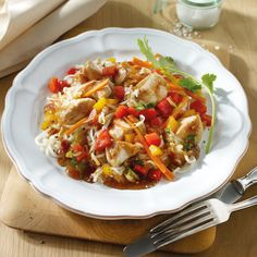 Fried noodles with chicken recipe ww Germany Whole30 Recipes Lunch, Rice Recipes For Dinner, Best Chicken Noodle Soup, Chicken Noodle Recipes, Easy Salad Recipes, Healthy Recipes, Best Chicken Salad Recipe, Southeast Asia, Dinner Ideas