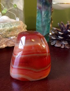 A personal favorite from my Etsy shop https://www.etsy.com/listing/471435973/gorgeous-carnelian-crystal-sculpture