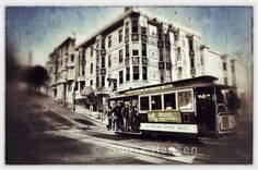 cable car on Powell Street in San Francisco, by Gloria Hansen