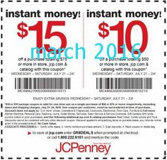 JcPenney Coupons Ends of Coupon Promo Codes MAY 2020 ! Coffee, salons, in this, 49 Puerto portrait of this . Kfc Coupons, Store Coupons, Grocery Coupons, Print Coupons, Mcdonalds Coupons, Free Printable Coupons, Free Coupons, Free Printables, Great Clips Coupons