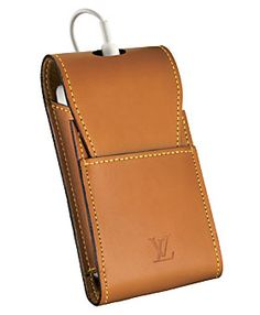 Louis Vuitton Nomade iPod Case 280USD  #colorofthemonth #caramel