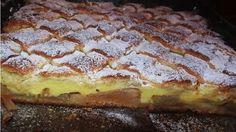 Chutný jablkový múčnik, ktorý zvládne pripraviť naozaj úplne každý! Chuť jabĺk a vanilkového pudingu Vás odzbrojí!