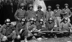 Doctors of the 2nd Medical Battalion (2nd Infantry Division, US)