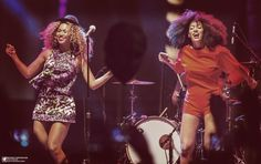 Beyoncé & Solange At Coachella Music & Arts Festival 12.04.2014