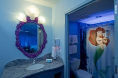 disney themed bathroom | Themes For Your Little Girl's Bathroom