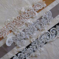 DIY Lace Bridal Sash by Bridalize on Etsy, $12.00