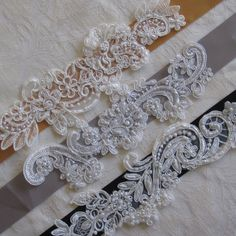 DIY Lace Bridal Sash by Bridalize on Etsy, $12.00