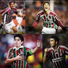 Fred, Thiago Silva, Conca e Deco #Fluminense
