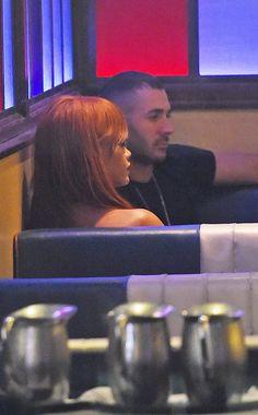 Rihanna et Karim Benzema