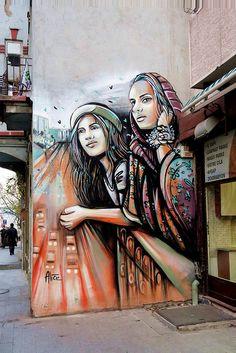 Alice Pasquini - Istanbul
