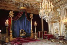 Le Trône de Napoleon - Chateau de Fontainebleau by bernard78br on Flickr.