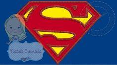 Matriz de bordado SUPER MAN
