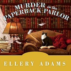 Murder in the Paperback Parlor: Book Retreat Mystery, Book 2