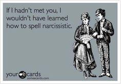 Narcissism ecards