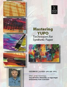 "Mastering Yupo with George James | http://ccpvideos.com/products/gj1d | George James, AWS DF, NWS shows you dozens of ways to put pigment on Yupo ""paper"".He has developed a process that promotes predictable results and a creative flexibility unheard of on regular watercolor paper."